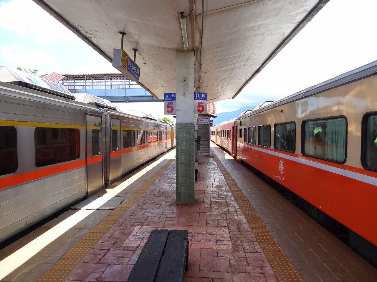 鐵貓=鐵道與貓的完美結合: 康樂車站