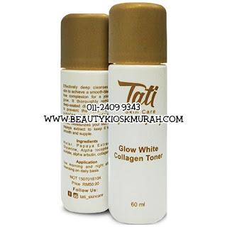 Tati Glow White Collagen Toner 60ml
