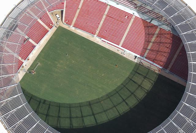 Estádio Nacional - fotos em maio