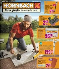 Catalog Hornbach cu materiale de construit și plante pentru grădină