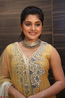 Nivetha Thamos in bright yellow dress at Ninnu Kori pre release function ~  Exclusive (83).JPG