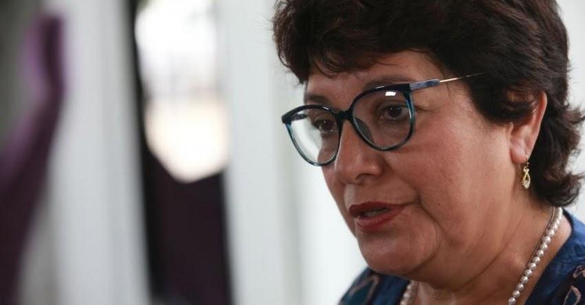 MINEDU: Idel Vexler pide renuncia a titular de la SUNEDU