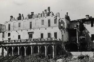 villa simonetta bombardamenti WWII