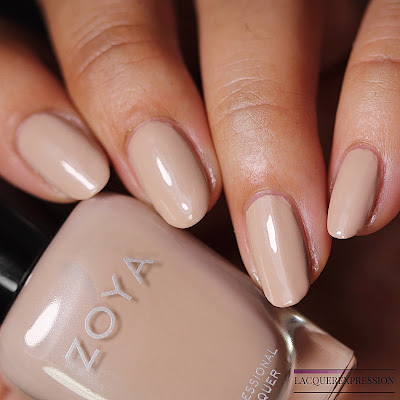 Nail polish swatches and review of McKenna from the Zoya Bridal Bliss collection