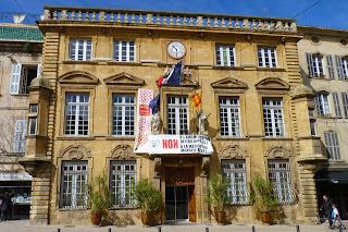 El Ayuntamiento o Hôtel de Ville de Salon-de-Provence.