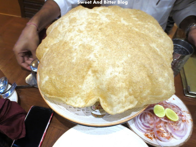 Big Chole Bhatura at Punjabi by Nature, Connaught Place, Delhi
