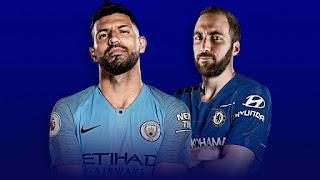 اون لاين مشاهدة مباراة مانشستر سيتي وتشيلسي بث مباشر اليوم 10-2-2019 الدوري الانجليزي محرز اليوم بدون تقطيع