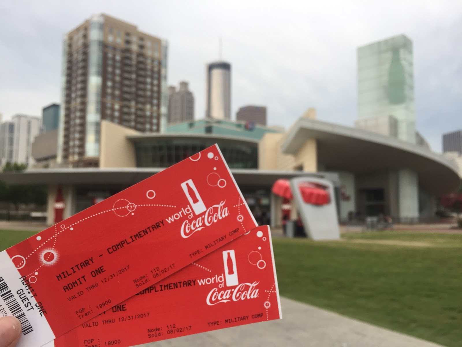Veterans Day Offer and Events at World of Coca-Cola  via  www.productreviewmom.com