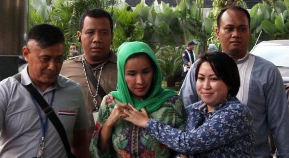 Istri Gubernur Bengkulu Ditangkap KPK Diduga Terima Suap Pengerjaan Proyek Rp 1 Miliar