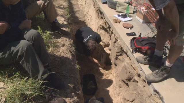 'Roman burial site' found in Alderney