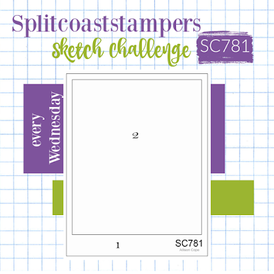 Splitcoaststampers Sketch Challenge 781
