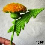 patron gratis flor amigurumi, free amiguru pattern flower