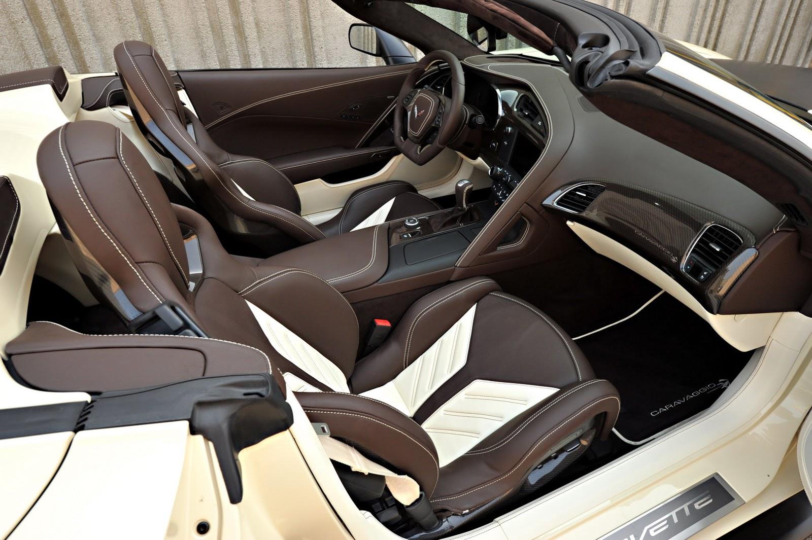 From canada with love caravaggio custom corvette z06 is a 2014 corvette white with red interior