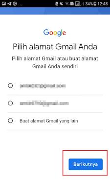 Pilih Alamat Email yang Kamu Kehendaki