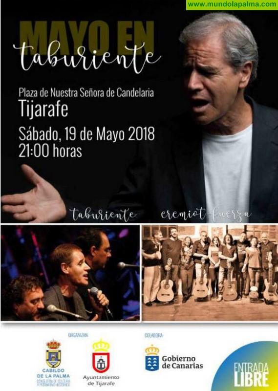 Concierto Taburiente y Eremiot en Tijarafe