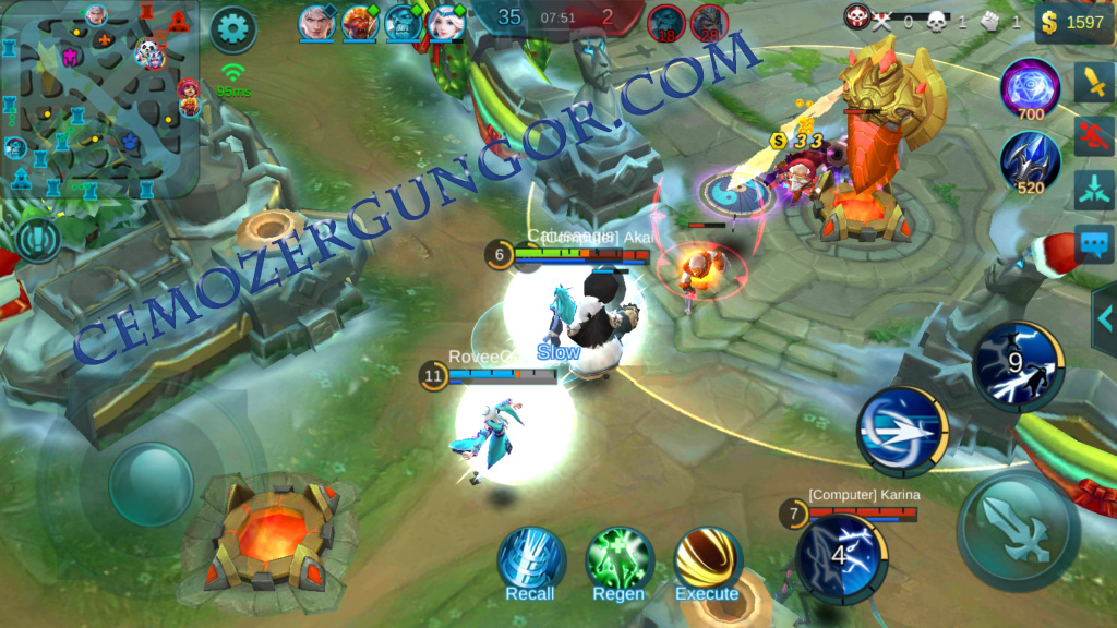 Mobile Legends Bang Bang Kuleleri Yık