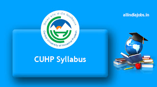 CUHP Associate Professor Syllabus