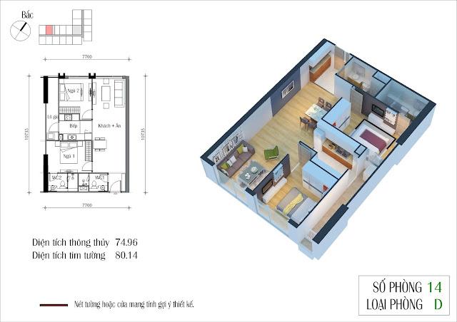 Thiết kế chi tiết căn hộ của tôi