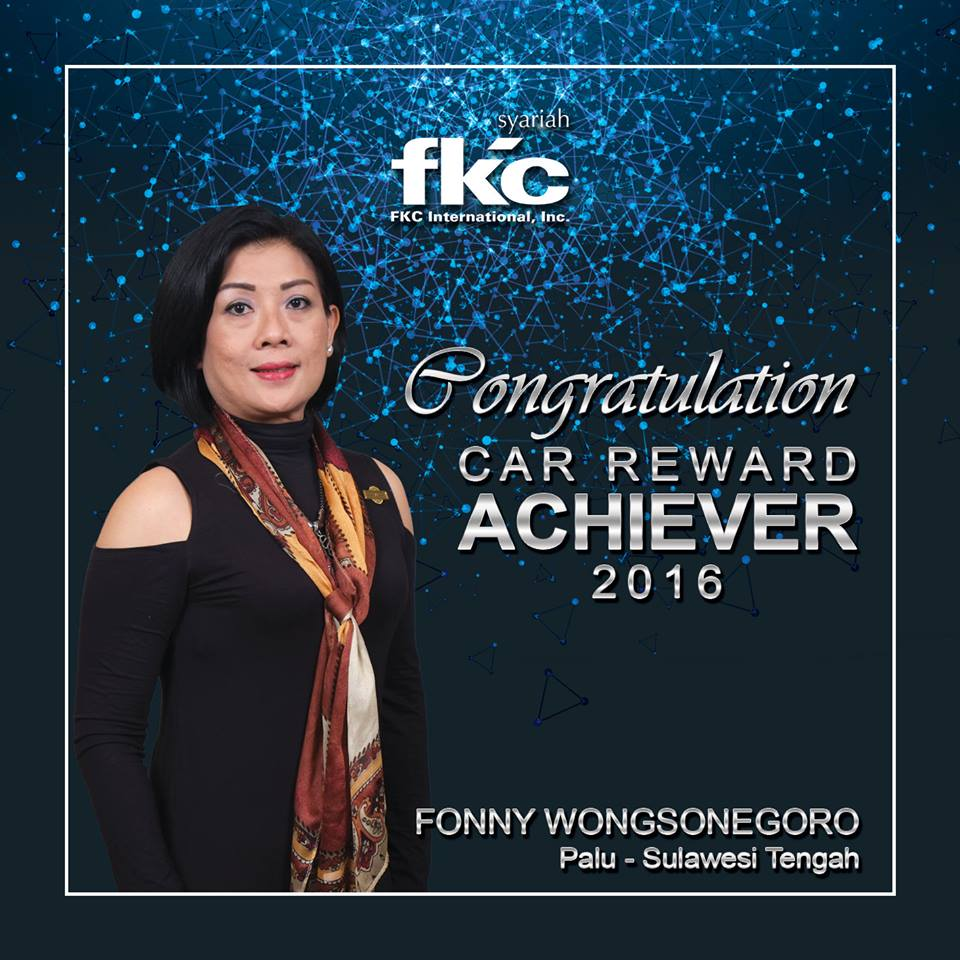 Bisnis Fkc Syariah - Reward Fonny Wongsonegoro