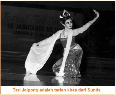 Tari Jaipong adalah tarian khas dari Sunda