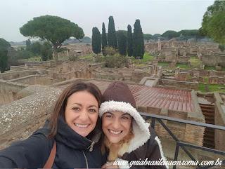 bate e volta Ostia Antiga guia turismo portugues - Ostia Antiga