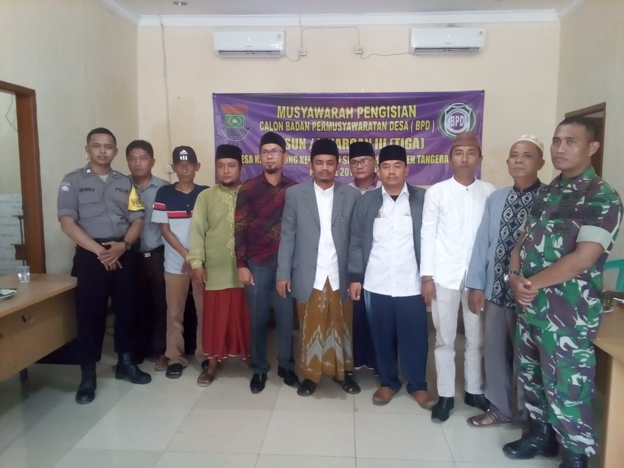 Desa Kayu Agung Gelar Pemilihan Anggota BPD Kejaroan III