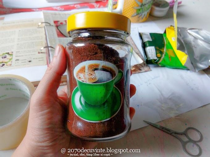 DIY: Recipient pentru păstrarea cafelei
