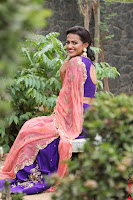 Actress Shraddha Srinath in Purple Chania Choli Cute Pics ~  Exclusive 02.jpg