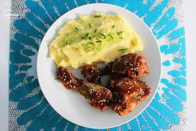 Kurczak w glazurze teriyaki