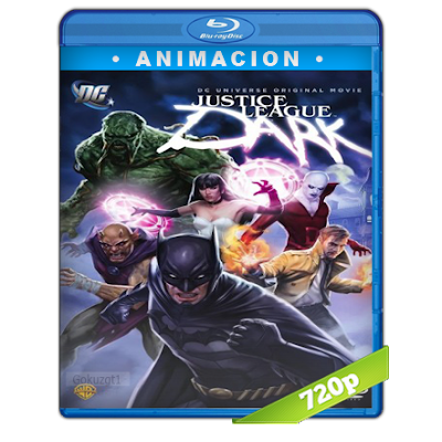 Liga De La Justicia Oscura (2017) BRRip 720p Audio Trial Latino-Castellano-Ingles 5.1