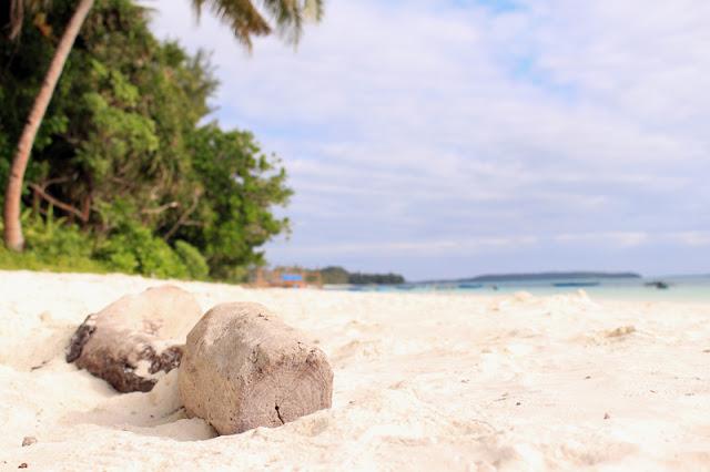 Backpacker di Kepulauan Kei: Cerita dari pasir putih di pantai Ngursarnadan