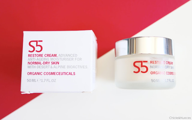 S5 restore Cream Facial Cosmética natural