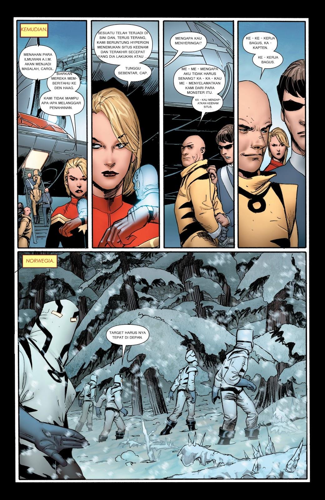komik amerika bahasa indonesia avengers 4