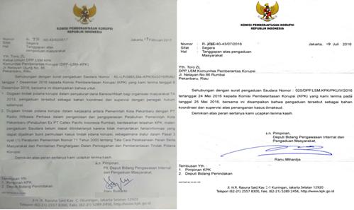 Laporan Dugaan Korupsi Apbd Kota Pekanbaru Ditindak Lanjuti Kpk Harianberantas