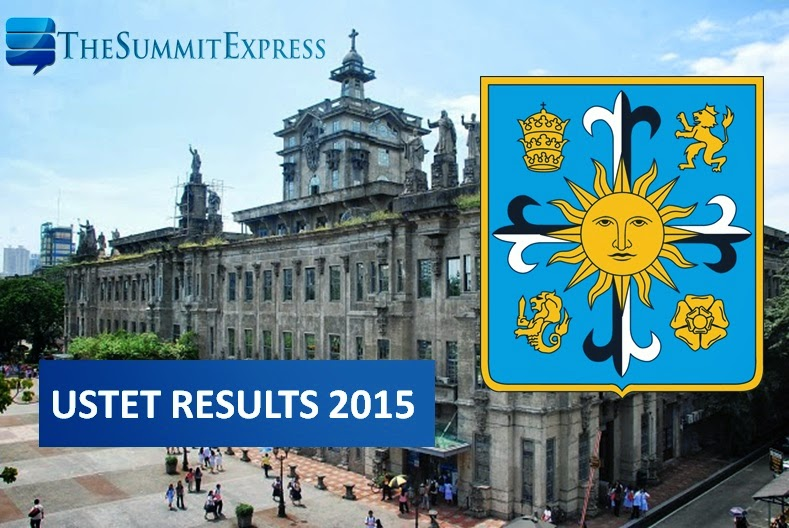 USTET results AY 2015-2016 release is on January 28, 2015