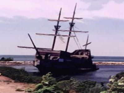 Bel Amica, uma escuna que foi confundida com um navio antigo