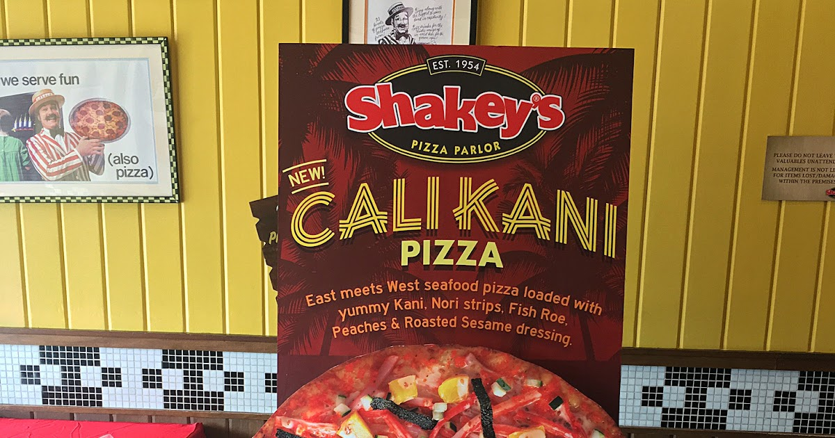 Shakey's Philippines Cleverly Made the California Maki Into a Delicious New Pizza