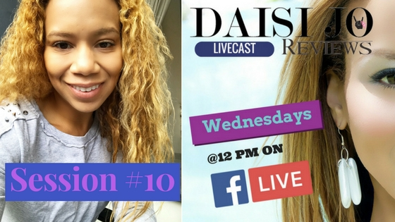 #DJRLive Q&A Session 10 | Daisi Jo Reviews Facebook Live