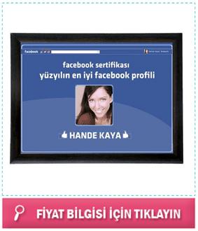 Kişiye Özel Facebook Sertifikası
