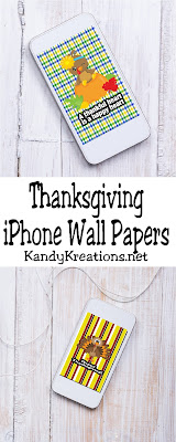 Decorate your iPhone for Thanksgiving with these fun wall paper freebies. Such a fun way to get ready for the Thanksgiving holiday!
