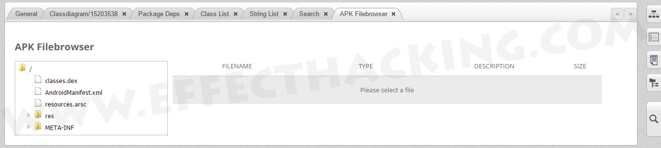 APK FileBrowser Screenshot