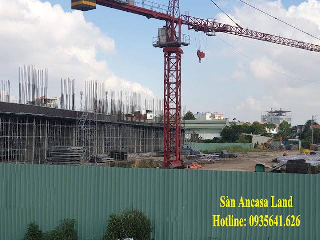 Tiến độ Mường Thanh Gò Vấp Sài Gòn Ngày 24/04/2019 - Hình 1