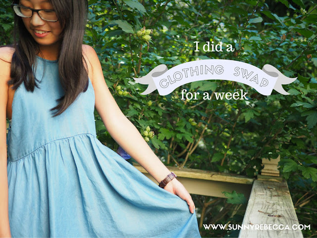 I Swapped Clothes with a Friend for a Week - Sunny Rebecca