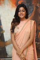 Eesha Rebba in beautiful peach saree at Darshakudu pre release ~  Exclusive Celebrities Galleries 022.JPG