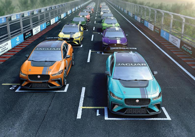 Jaguar I-PACE eTROPHY The first single-branded electric SUV is on the way