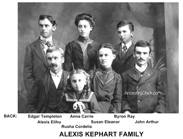 Alexis Kephart Family Portrait