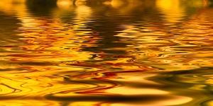 foto dell'oro sciolto