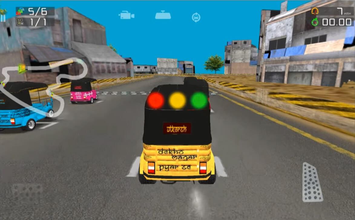 Download Rickshaw Racing
