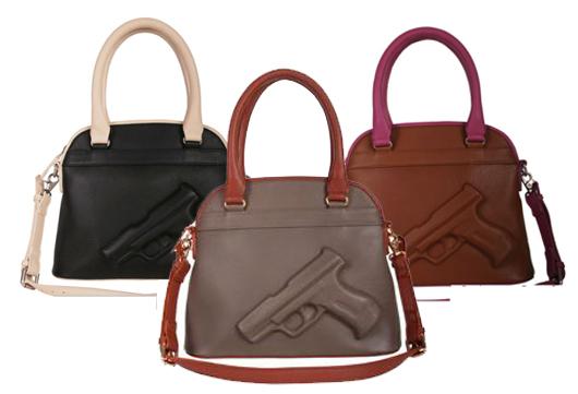 Vlieger and Vandam Guardian Angel Gun Handbags