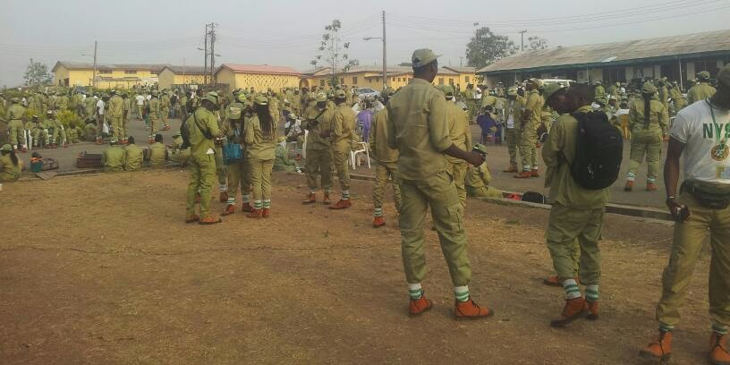 <passing Out day in nysc camp>
